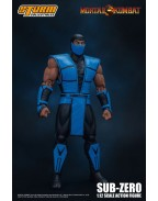 Mortal Kombat Action Figure 1/12 Sub-Zero 16 cm
