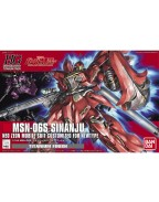 MSN-06S Sinanju Titanium Finish (HGUC) 1/144 (Model Kit)