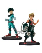 My Hero Academia DXF Figures 15 cm Izuki Midoriya & Katsuki Bakugo Assortment