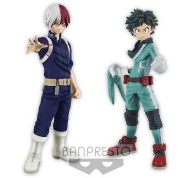 My Hero Academia DXF Figures 15 cm Izuki Midoriya & Shoto Todoroki Assortment