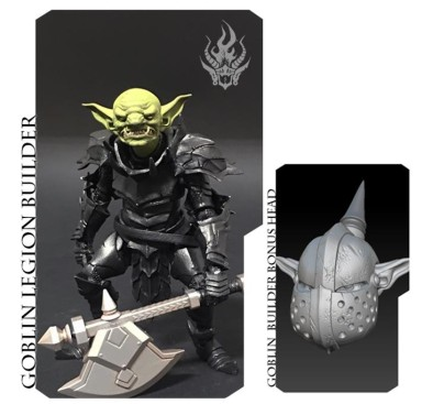 Mythic Legions Advent of Decay Goblin Legion Builder