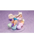 Nekopara PVC Statue 1/6 Coconut Illustration by Sayori with Stretched Denim 22 cm