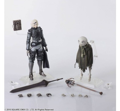 NieR RepliCant Bring Arts Action Figure 2-Pack Nier & Emil 6-16 cm