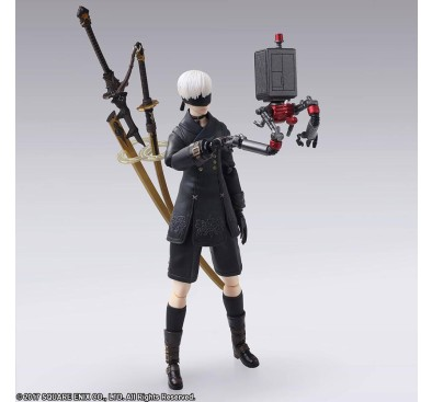 NieR RepliCant/Gestalt Bring Arts Action Figure 9S (YoRHa No. 9 Type S) 15 cm