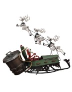 Nightmare before Christmas PVC Set Jack and Sleigh