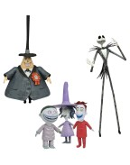 Nightmare before Christmas Select Action Figures 18 cm Best Of Series 1 (Set 3 figurine)