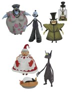 Nightmare before Christmas Select Action Figures 18 cm Series 10 (Set 3 figurine)
