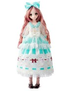 Obitsu Seifuku Keikaku Doll Sewing Book Doll Yaezakashi no Cotton Candy Mint 24 cm