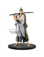 One Piece DXF Grandline Men PVC Statue Wanokuni Vol. 2 Zoro 17 cm