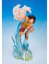 One Piece FiguartsZERO PVC Statue Monkey D. Luffy Brother's Bond 19 cm