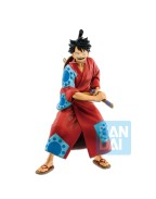 One Piece Figure Monkey D. Luffy Japanese Style 25 cm