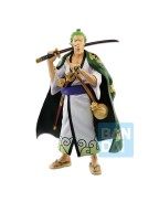 One Piece Figure Zoro Japanese Style 26 cm