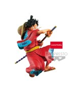 One Piece King Of Artist PVC Statue Monkey D. Luffy Wanokuni 16 cm