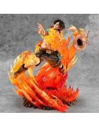 One Piece P.O.P NEO-Maximum PVC Statue Portgas D. Ace 15th Anniversary Limited Ver. 23 cm