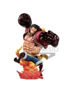 One Piece PVC Statue Monkey D. Luffy Gear 4 Kong Gun Crimson Color Ver. 24 cm