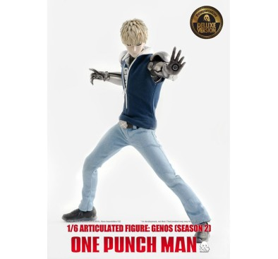 One Punch Man Action Figure 1/6 Genos (Season 2) Deluxe Version 30 cm