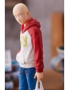 One Punch Man Pop Up Parade PVC Statue Saitama Oppai Hoodie Ver. 17 cm
