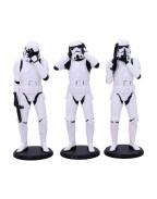 Original Stormtrooper Figures 3-Pack Three Wise Stormtroopers 14 cm