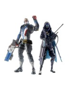 Overwatch Ultimates Action Figures 15 cm Ana & Soldier 76