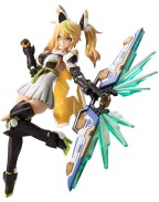 Phantasy Star Online 2 Plastic Model Kit Gene Stellainnocent Version 16 cm