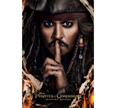 Pirates of the Caribbean Dead Men Tell No Tales Poster Can You Keep A Secret 61 x 91 cm