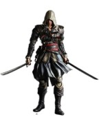 Assassin´s Creed IV Black Flag Play Arts Kai Action Figure Edward Kenway 24 cm