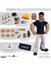 Popeye Action Figures 1/12 Popeye & Bluto: Stormy Seas Ahead Deluxe Box Set