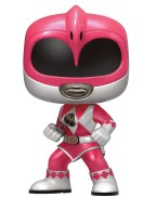 Power Rangers POP! Television Vinyl Figure Pink Ranger Metallic Limited 10 cm