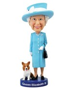 Queen Elizabeth II Bobble-Head 20 cm
