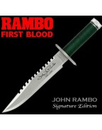 Rambo I First Blood John Rambo Knife Signature Edition 36 cm