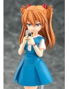 Rebuild of Evangelion Parfom R! Action Figure Asuka Shikinami Langley School Uniform Ver. 14 cm