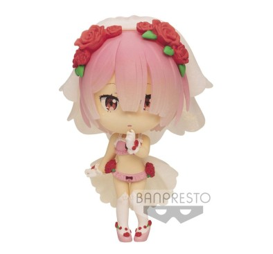 Re:Zero Starting Life in Another World ChiBi Kyun Figure Ram 6 cm