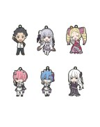 Re:Zero - Starting Life in Another World Nendoroid Plus Keychain 6-Pack 6 cm