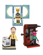 Rick and Morty Micro Construction Set Wave 1 Assortment