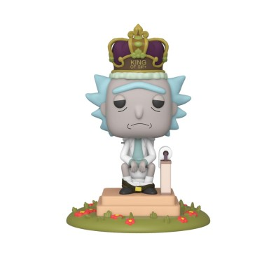 Rick & Morty Electronic POP! Movies Vinyl Figure with Sound Rick on Toilet 10 cm