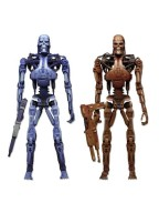 RoboCop vs.The Terminator,  2-Pack Endoskeleton 18 cm