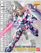 RX-0 Unicorn Gundam (Red or Green Frame Twin Frame Edition) Titanium Finish 1/100 (MG) (Model Kit)