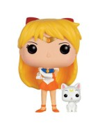 Sailor Moon POP! Animation Vinyl Figure Sailor Venus & Artemis 10 cm