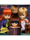 Scooby-Doo & Mystery Inc Build A Figure Living Dead Dolls 25 cm Velma & Fred (set 2 figurine)