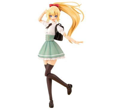 Sousai Shojo Teien Plastic Model Kit 1/10 Ritsuka Saeki High School Summer Clothes 16 cm