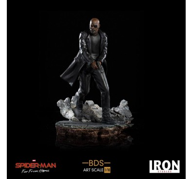 Spider-Man: Far From Home BDS Art Scale Deluxe Statue 1/10 Nick Fury 20 cm