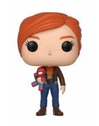 Spider-Man POP! Games Vinyl Figure Mary Jane with Plush 10 cm