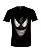 Spiderman - Venom Smile T-shirt - Black, Sie S, M, XXL