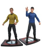 Star Trek Into Darkness Select Action Figures 18 cm Series 1 (set 2 figurine)