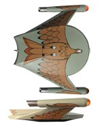 Star Trek TOS Model Romulan Bird-of-Prey 23 cm