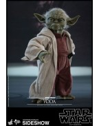Star Wars Episode II Movie Masterpiece Action Figure 1/6 Yoda 14 cm