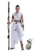 Star Wars Episode IX Movie Masterpiece Action Figure 2-Pack 1/6 Rey & D-O 28 cm