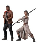 Star Wars Episode VII ARTFX+ Statue 2-Pack Rey & Finn 15 - 18 cm