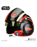 Star Wars Episode VII Replica 1/1 Poe Dameron Black Squadron Helmet Accessory Ver.