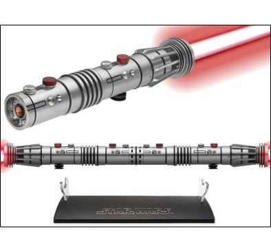Star Wars MR Darth Maul Force FX Double-Bladed Lightsaber